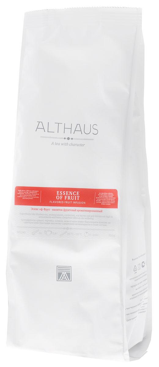 Althaus Essence of Fruin фруктовый листовой чай, 250 гTALTHL-L00154Суперфрукты гранат, черника, клюква, асаи и годжи окажут благотворное влияние на самочувствие благодаря высокому содержанию антиоксидантов в своем составе.