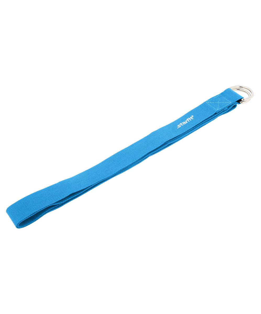 Ремень для йоги Starfit FA-103, цвет: синий, 186 х 3,8 смУТ-00009059Ремень для йоги Star Fit FA-103 изготовлен из прочной ткани. Ремень поможет выполнить упражнения при недостаточной растяжке мышц и связок, а также будет помощником в позициях в йоге. Аксессуар необходим для выполнения сложных упражнений, требующих максимальной гибкости и сноровки.