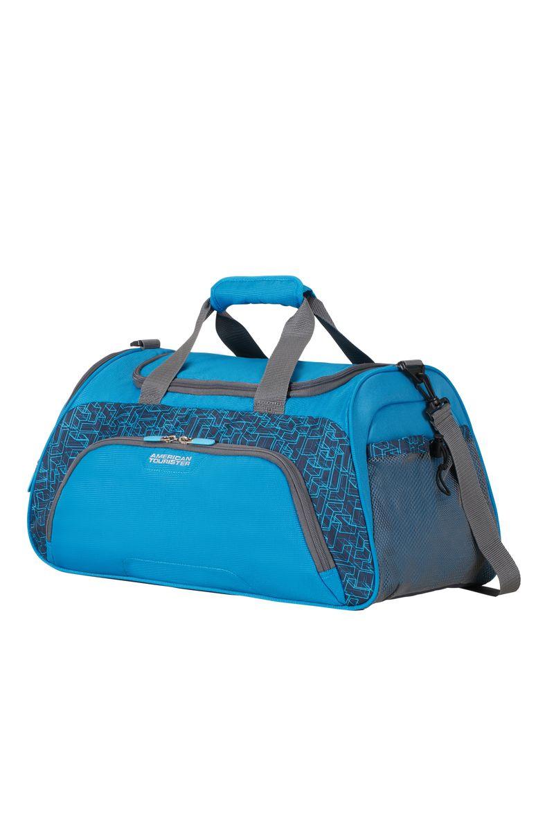 Сумка дорожная American Tourister, цвет: синий, 38 л. 16G*1101016G*11010