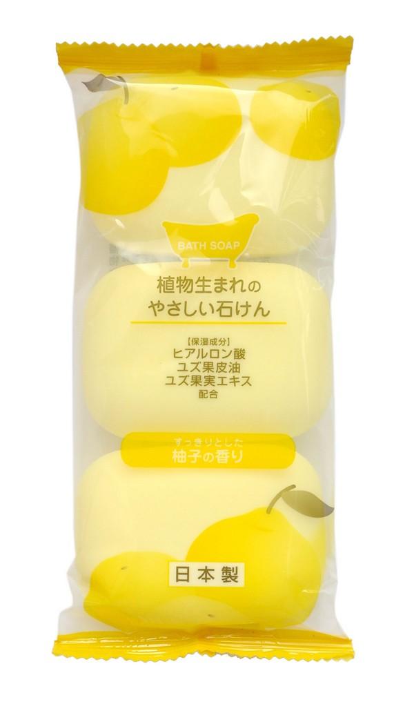 Max Soap Мыло туалетное, с ароматом юдзу, 3шт х 80 гБ33041Мыло образует густую мягкую пену, очищает и освежает кожу тела. Благодаря гиалуроновой кислоте не сушит кожу. Изготовлено по традиционному способу мыловарения (с мыльной основой из натуральных растительных компонентов). Экономично в использовании.Обладает ароматом юдзу.