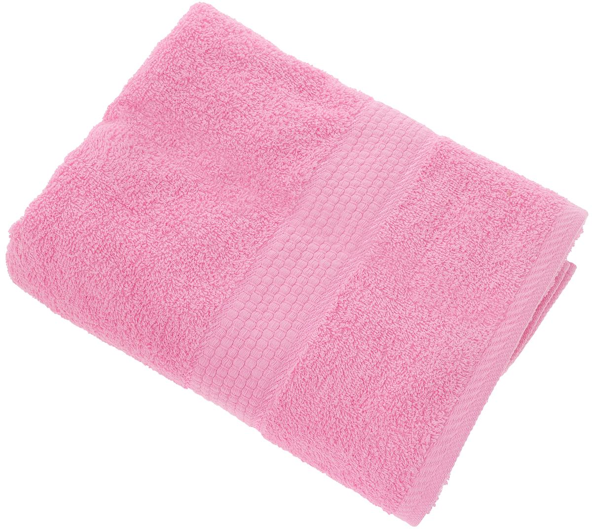 Полотенце Aisha Home Textile, цвет: розовый, 70 х 140 смKOC_SOL249_G4Махровые полотенца AISHA Home Textile идеальное сочетание цены и качества. Полотенца упакованы в стильную подарочную коробку. В состав входит только натуральное волокно - хлопок. Лаконичные бордюры подойдут для любого интерьера ванной комнаты. Полотенца прекрасно впитывает влагу и быстро сохнут. При соблюдении рекомендаций по уходу не линяют и не теряют форму даже после многократных стирок.Состав: 100% хлопок.