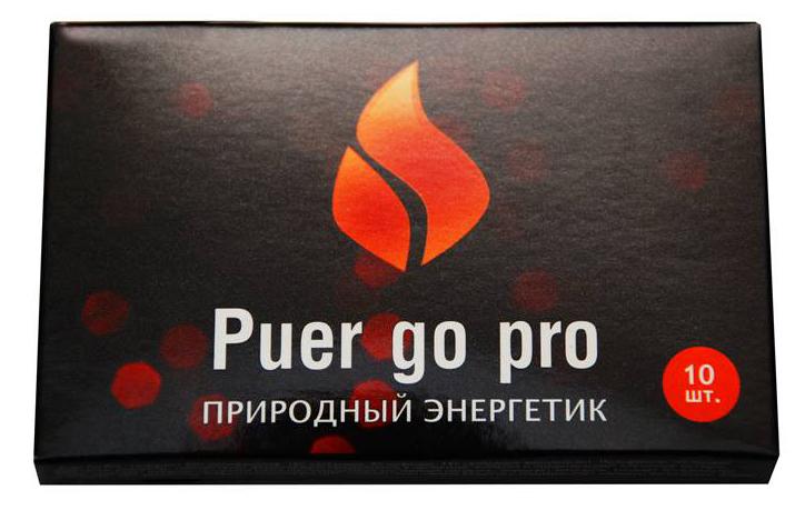 Puer Go Pro экстракт китайского чая Пуэр в саше, 10 шт по 0,5 г0120710Быстрорастворимый китайский чай пуэр (для заваривания достаточно залить содержимое пакетика горячей водой). 100 % натуральный продукт. Природный энергетик и антиоксидант. Прекрасная замена кофе.