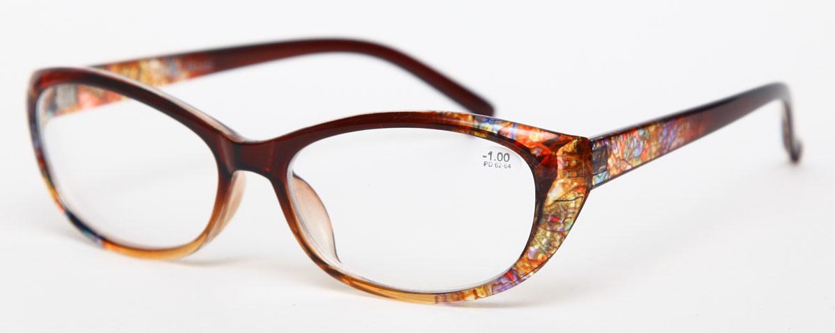 Proffi Home Очки корригирующие 729 Fabia Monti -1.00, цвет: желтыйPH7296Надев эти очки, вы сможете четко видеть пространство впереди себя. Они удобны при чтении. Оправа очков легкая и не создает никакого дискомфорта.