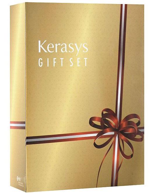 KeraSys Подарочный набор для волос Salon Care. Питание: шампунь, кондиционер, мыло, 2 шт895290НПодарочный набор KeraSys Salon Care. Питание включает шампунь, бальзам-ополаскиватель для волос и два мыла. Шампунь KeraSys Salon Care с трехфазной системой восстановления делает здоровыми даже сильно поврежденные волосы. Компонент природного протеина, содержащегося в экстракте моринги, экстракт семян подсолнуха и технология ампульной терапии обеспечивает уход за поврежденными, сухими волосами. Трехфазная система восстановления: Природный протеин, содержащийся в экстракте плодов моринги, укрепляет и оздоравливает структуру поврежденных волос. Экстракт семян подсолнуха препятствует воздействию ультрафиолетовых лучей, защищает от внешних вредных воздействий, делает волосы здоровыми. Компонент природного кератина, полифенол, компонент красного вина и кристаллический компонент делают волосы здоровыми. Кондиционер для волос Kerasys Salon Care с трехфазной системой восстановления делает здоровыми даже сильно поврежденные волосы. Компонент природного...