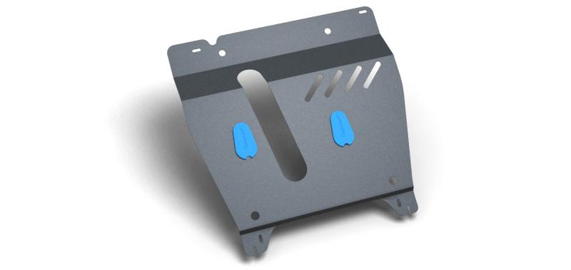 Комплект Защита картера и крепеж NISSAN Note (NISSAN Micra 1,4/1,6 МКПП/АКПП) (2006-) (2мм) 1,4 бензин МКППNLZ.36.15.020 NEW