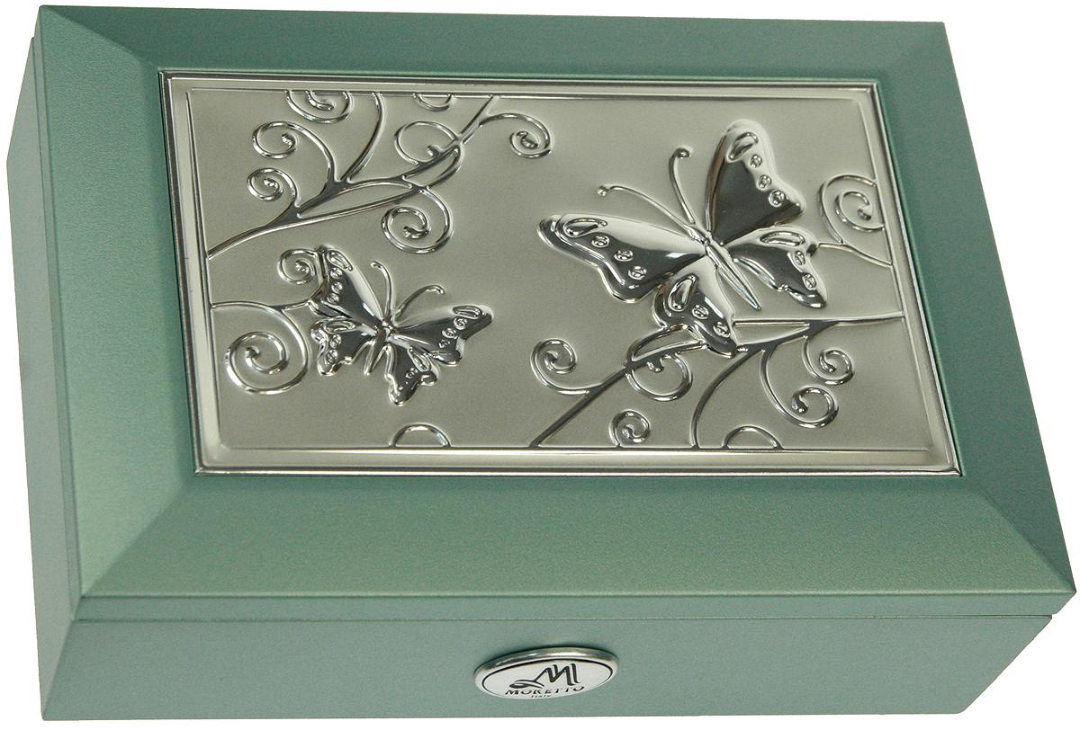 Шкатулка для ювелирных украшений Moretto, 18х13х5 см. 139520139520