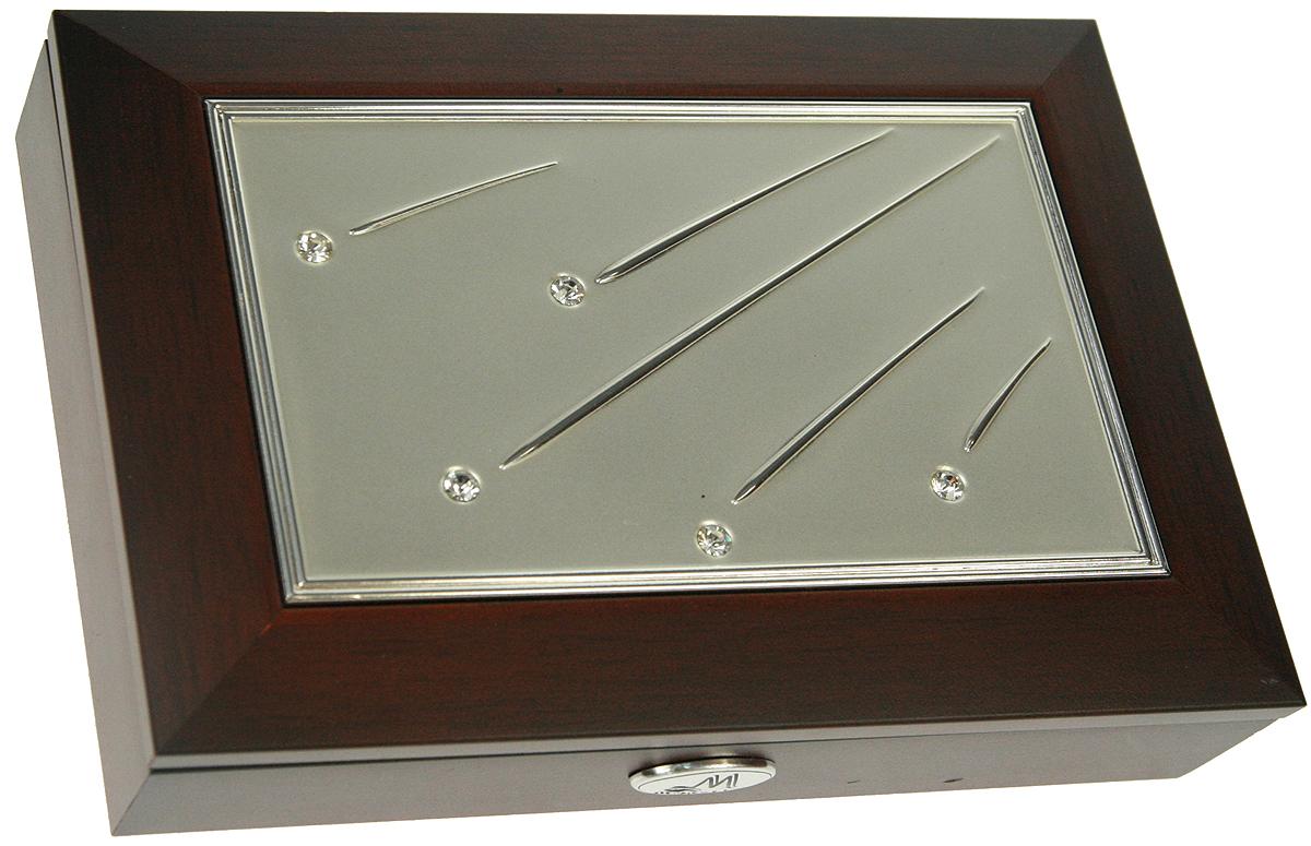 Шкатулка-фоторамка ювелирная Moretto, 18х13х5 см. 139524139524