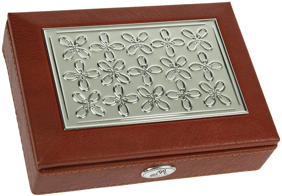 Шкатулка для ювелирных украшений Moretto, 18х13х5 см. 139529139529