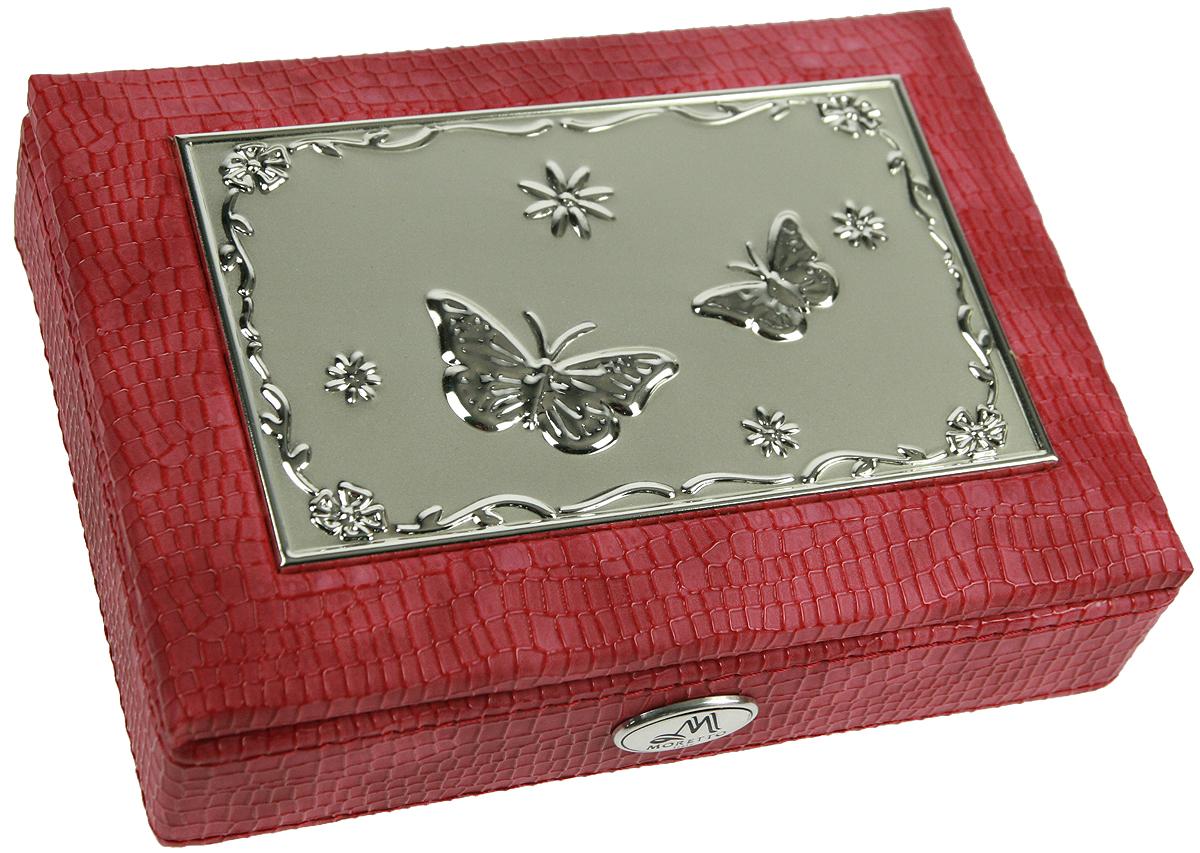 Шкатулка для ювелирных украшений Moretto, 18х13х5 см. 139531139531