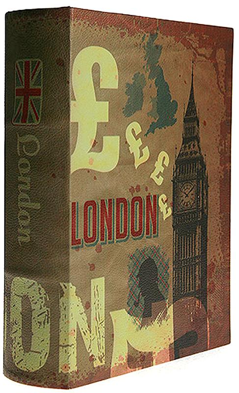 Книга-сейф Win Max Лондон, 27х21х7 см. 184415184415