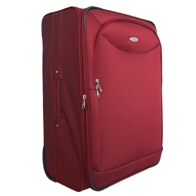 Чемодан-тележка Edmins, цвет: бордовый, 70х45х32см