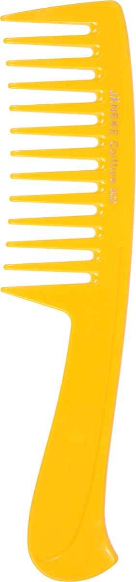 Janeke Расческа для волос, цвет: желтый. 5980259802_желтый