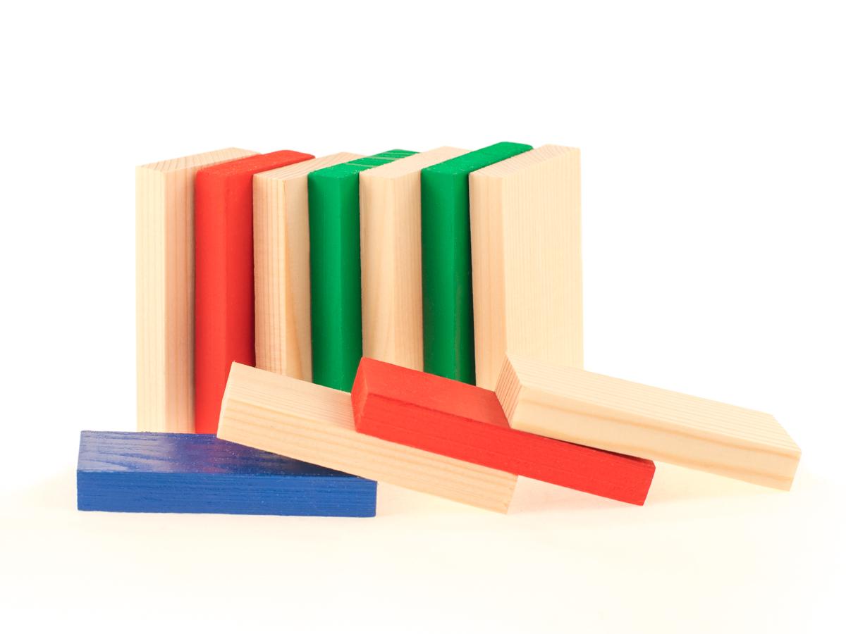 Развивающие деревянные игрушки Конструктор Д167б