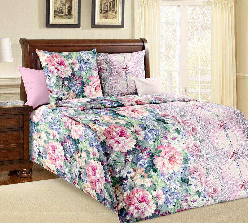 Комплект белья Текс-Дизайн Влюбленность, 1,5 спальный, наволочки 70x70S03301004Великолепное постельное белье Текс-Дизайн Влюбленность 1 выполнено из высококачественной бязи и украшено изящным цветочным рисунком. Комплект состоит из пододеяльника, простыни и двух наволочек. Бязь - хлопчатобумажная плотная ткань полотняного переплетения. Отличается прочностью и стойкостью к многочисленным стиркам. Бязь считается одной из наиболее подходящих тканей, для производства постельного белья и пользуется в России большим спросом.
