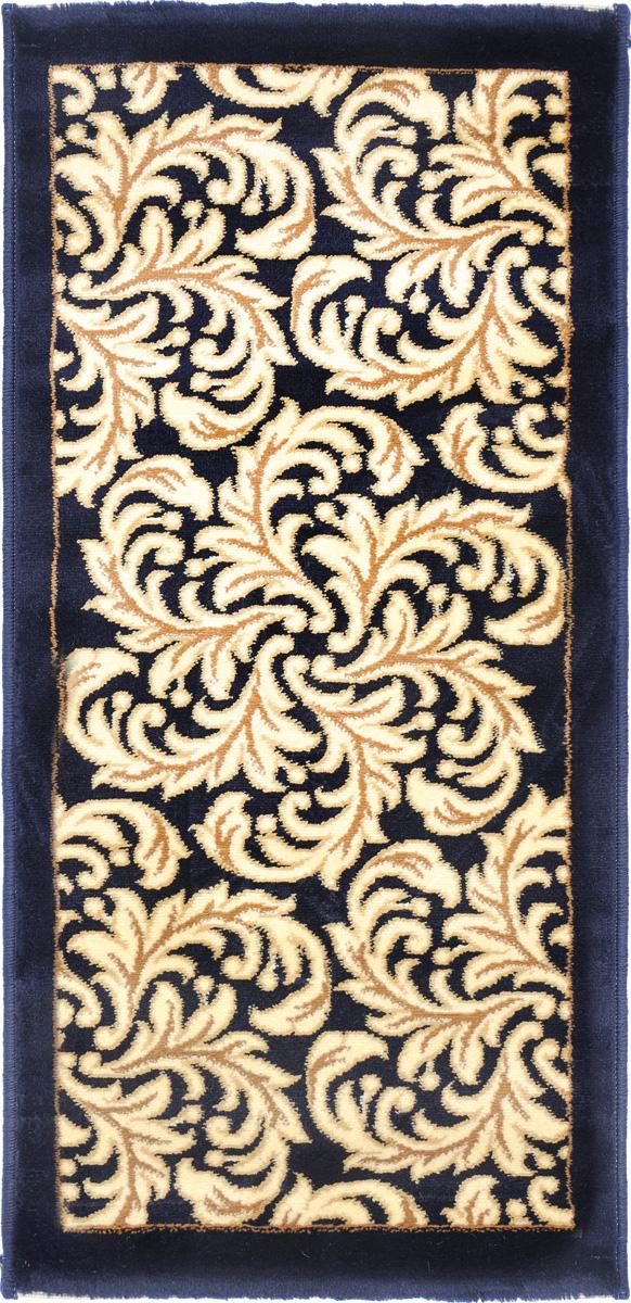 Ковер Kamalak Tekstil, прямоугольный, 50 x 100 см. УК-0497УК-0497Ковер Kamalak Tekstil изготовлен из прочного синтетического материала heat-set, улучшенного варианта полипропилена (эта нить получается в результате его дополнительной обработки). Полипропилен износостоек, нетоксичен, не впитывает влагу, не провоцирует аллергию. Структура волокна в полипропиленовых коврах гладкая, поэтому грязь не будет въедаться и скапливаться на ворсе. Практичный и износоустойчивый ворс не истирается и не накапливает статическое электричество. Ковер обладает хорошими показателями теплостойкости и шумоизоляции. Оригинальный рисунок позволит гармонично оформить интерьер комнаты, гостиной или прихожей. За счет невысокого ворса ковер легко чистить. При надлежащем уходе синтетический ковер прослужит долго, не утратив ни яркости узора, ни блеска ворса, ни упругости. Самый простой способ избавить изделие от грязи - пропылесосить его с обеих сторон (лицевой и изнаночной). Влажная уборка с применением шампуней и...