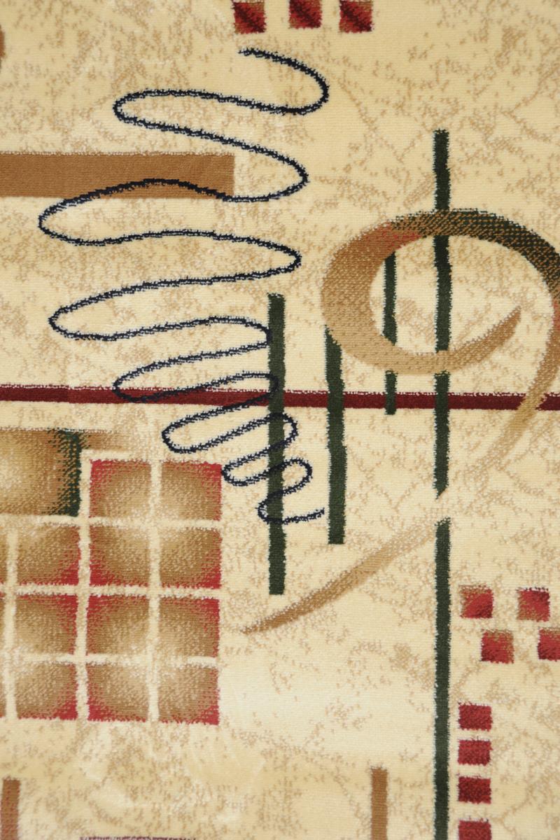 Ковер Kamalak Tekstil, прямоугольный, 80 x 150 см. УК-0054УК-0054Ковер Kamalak Tekstil изготовлен из прочного синтетического материала heat-set, улучшенного варианта полипропилена (эта нить получается в результате его дополнительной обработки). Полипропилен износостоек, нетоксичен, не впитывает влагу, не провоцирует аллергию. Структура волокна в полипропиленовых коврах гладкая, поэтому грязь не будет въедаться и скапливаться на ворсе. Практичный и износоустойчивый ворс не истирается и не накапливает статическое электричество. Ковер обладает хорошими показателями теплостойкости и шумоизоляции. Оригинальный рисунок позволит гармонично оформить интерьер комнаты, гостиной или прихожей. За счет невысокого ворса ковер легко чистить. При надлежащем уходе синтетический ковер прослужит долго, не утратив ни яркости узора, ни блеска ворса, ни упругости. Самый простой способ избавить изделие от грязи - пропылесосить его с обеих сторон (лицевой и изнаночной). Влажная уборка с применением шампуней и...