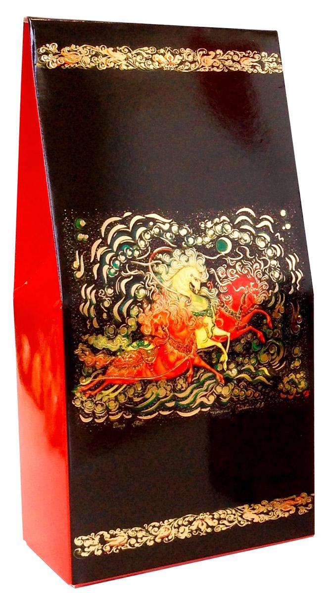 Коробка подарочная Правила Успеха Тройка4610009214306Описание дизайна: Художественная роспись - Палех. Пишется Палех яркими темперными красками, густыми и плотными мазками, либо тонкими и полупрозрачными. Для начала на изделие наносится чёрная краска, что в палехе является фоном для рисунка. Чтобы нарисовать одну картину уходит очень много времени, не один месяц, это очень сложный и трудоёмким процесс. В результате получается картина сказочной красоты, которые потом мы используем в своей упаковке. Тип упаковки: Коробка конструкции «Домик» малый из мелованного картона. Параметры: 9 см ширина х 18 см высота х 5 см глубина Отделка: Тиснение золотой фольгой Покрытие: Глянцевое Возможность изменения размера, дизайна, внесение дополнительных изменений – от 100 шт.