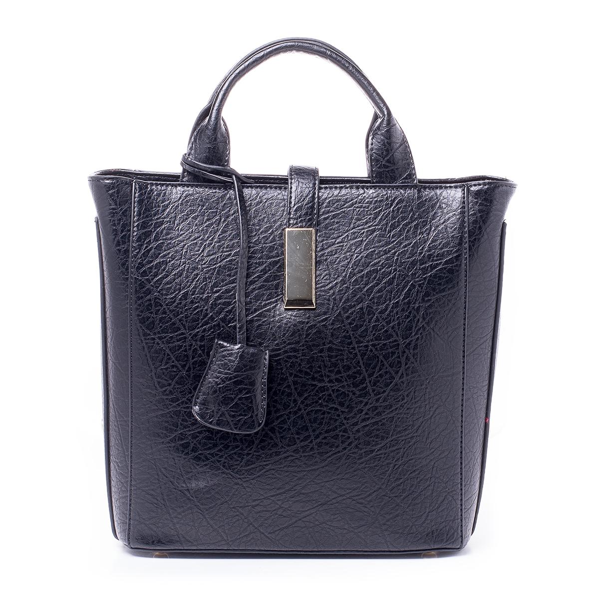 Сумка женская Baggini, цвет: черный. 29841/1029841/10Загрязнения на изделиях удаляется влажной мягкой тканью