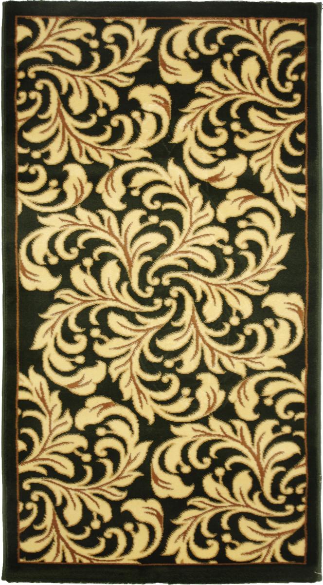 Ковер Kamalak Tekstil, прямоугольный, 80 x 150 см. УК-0322UP210DFКовер Kamalak Tekstil изготовлен из прочного синтетического материала heat-set, улучшенного варианта полипропилена (эта нить получается в результате его дополнительной обработки). Полипропилен износостоек, нетоксичен, не впитывает влагу, не провоцирует аллергию. Структура волокна в полипропиленовых коврах гладкая, поэтому грязь не будет въедаться и скапливаться на ворсе. Практичный и износоустойчивый ворс не истирается и не накапливает статическое электричество. Ковер обладает хорошими показателями теплостойкости и шумоизоляции. Оригинальный рисунок позволит гармонично оформить интерьер комнаты, гостиной или прихожей. За счет невысокого ворса ковер легко чистить. При надлежащем уходе синтетический ковер прослужит долго, не утратив ни яркости узора, ни блеска ворса, ни упругости. Самый простой способ избавить изделие от грязи - пропылесосить его с обеих сторон (лицевой и изнаночной). Влажная уборка с применением шампуней и моющих средств не противопоказана. Хранить рекомендуется в свернутом рулоном виде.