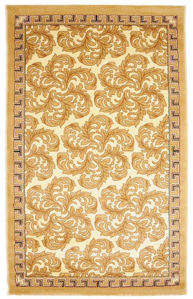 Ковер Kamalak Tekstil, прямоугольный, 100 x 150 см. УК-0284УК-0284Ковер Kamalak Tekstil изготовлен из прочного синтетического материала heat-set, улучшенного варианта полипропилена (эта нить получается в результате его дополнительной обработки). Полипропилен износостоек, нетоксичен, не впитывает влагу, не провоцирует аллергию. Структура волокна в полипропиленовых коврах гладкая, поэтому грязь не будет въедаться и скапливаться на ворсе. Практичный и износоустойчивый ворс не истирается и не накапливает статическое электричество. Ковер обладает хорошими показателями теплостойкости и шумоизоляции. Оригинальный рисунок позволит гармонично оформить интерьер комнаты, гостиной или прихожей. За счет невысокого ворса ковер легко чистить. При надлежащем уходе синтетический ковер прослужит долго, не утратив ни яркости узора, ни блеска ворса, ни упругости. Самый простой способ избавить изделие от грязи - пропылесосить его с обеих сторон (лицевой и изнаночной). Влажная уборка с применением шампуней и моющих средств не противопоказана. ...