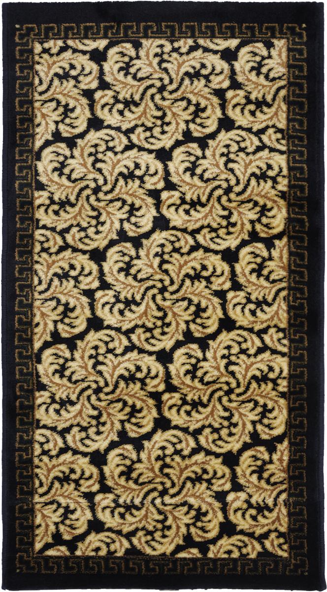 Ковер Kamalak Tekstil, прямоугольный, 60 x 110 см. УК-027644030.2Ковер Kamalak Tekstil изготовлен из прочного синтетического материала heat-set, улучшенного варианта полипропилена (эта нить получается в результате его дополнительной обработки). Полипропилен износостоек, нетоксичен, не впитывает влагу, не провоцирует аллергию. Структура волокна в полипропиленовых коврах гладкая, поэтому грязь не будет въедаться и скапливаться на ворсе. Практичный и износоустойчивый ворс не истирается и не накапливает статическое электричество. Ковер обладает хорошими показателями теплостойкости и шумоизоляции. Оригинальный рисунок позволит гармонично оформить интерьер комнаты, гостиной или прихожей. За счет невысокого ворса ковер легко чистить. При надлежащем уходе синтетический ковер прослужит долго, не утратив ни яркости узора, ни блеска ворса, ни упругости. Самый простой способ избавить изделие от грязи - пропылесосить его с обеих сторон (лицевой и изнаночной). Влажная уборка с применением шампуней и моющих средств не противопоказана. Хранить рекомендуется в свернутом рулоном виде.