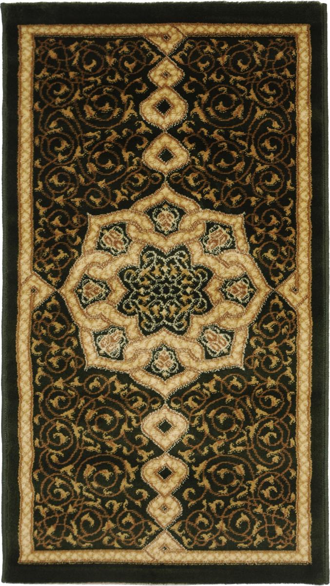 Ковер Kamalak Tekstil, прямоугольный, 60 x 110 см. УК-0094УК-0094Ковер Kamalak Tekstil изготовлен из прочного синтетического материала heat-set, улучшенного варианта полипропилена (эта нить получается в результате его дополнительной обработки). Полипропилен износостоек, нетоксичен, не впитывает влагу, не провоцирует аллергию. Структура волокна в полипропиленовых коврах гладкая, поэтому грязь не будет въедаться и скапливаться на ворсе. Практичный и износоустойчивый ворс не истирается и не накапливает статическое электричество. Ковер обладает хорошими показателями теплостойкости и шумоизоляции. Оригинальный рисунок позволит гармонично оформить интерьер комнаты, гостиной или прихожей. За счет невысокого ворса ковер легко чистить. При надлежащем уходе синтетический ковер прослужит долго, не утратив ни яркости узора, ни блеска ворса, ни упругости. Самый простой способ избавить изделие от грязи - пропылесосить его с обеих сторон (лицевой и изнаночной). Влажная уборка с применением шампуней и моющих средств не противопоказана. ...