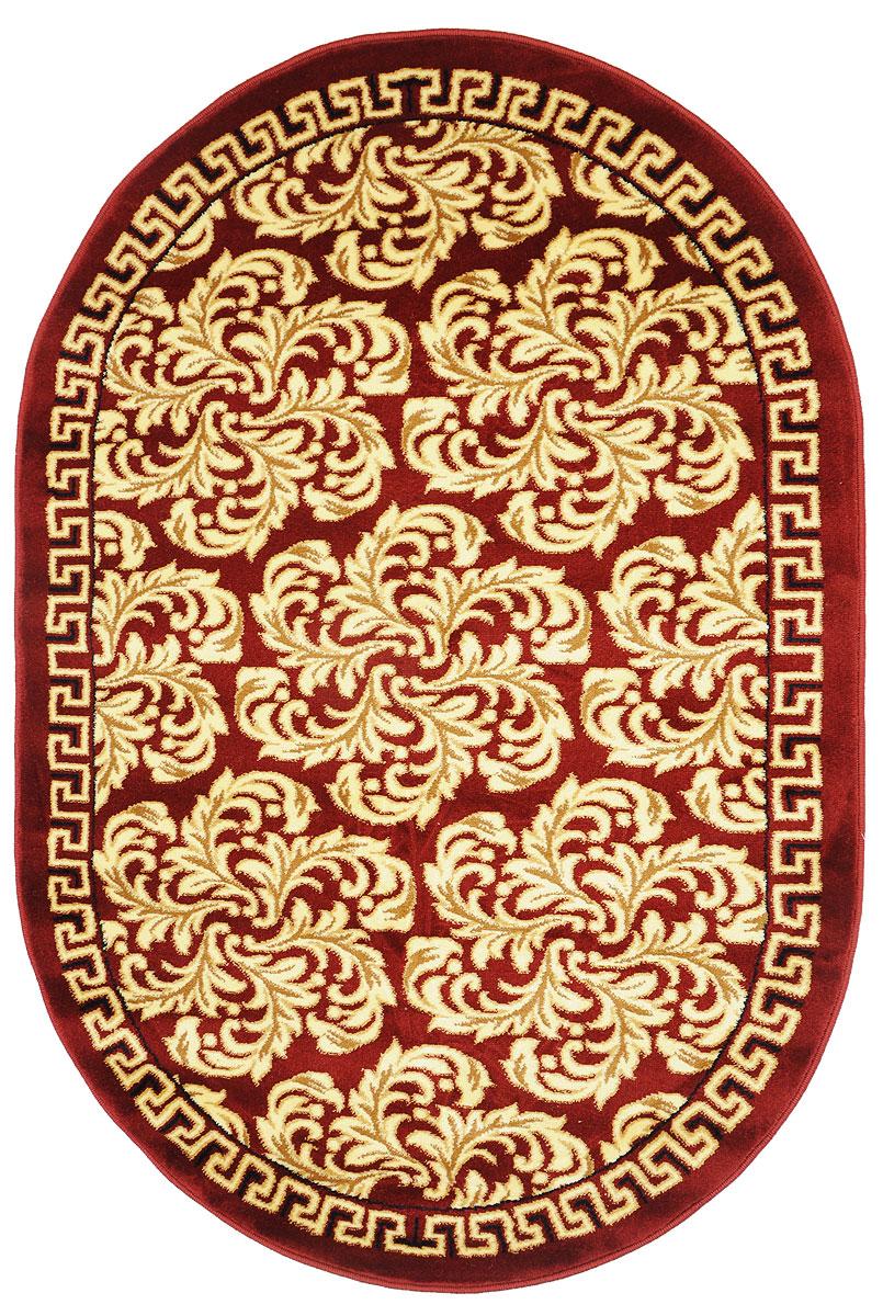 Ковер Kamalak Tekstil, овальный, 100 x 150 см. УК-0297УК-0297Ковер Kamalak Tekstil изготовлен из прочного синтетического материала heat-set, улучшенного варианта полипропилена (эта нить получается в результате его дополнительной обработки). Полипропилен износостоек, нетоксичен, не впитывает влагу, не провоцирует аллергию. Структура волокна в полипропиленовых коврах гладкая, поэтому грязь не будет въедаться и скапливаться на ворсе. Практичный и износоустойчивый ворс не истирается и не накапливает статическое электричество. Ковер обладает хорошими показателями теплостойкости и шумоизоляции. Оригинальный рисунок позволит гармонично оформить интерьер комнаты, гостиной или прихожей. За счет невысокого ворса ковер легко чистить. При надлежащем уходе синтетический ковер прослужит долго, не утратив ни яркости узора, ни блеска ворса, ни упругости. Самый простой способ избавить изделие от грязи - пропылесосить его с обеих сторон (лицевой и изнаночной). Влажная уборка с применением шампуней и...