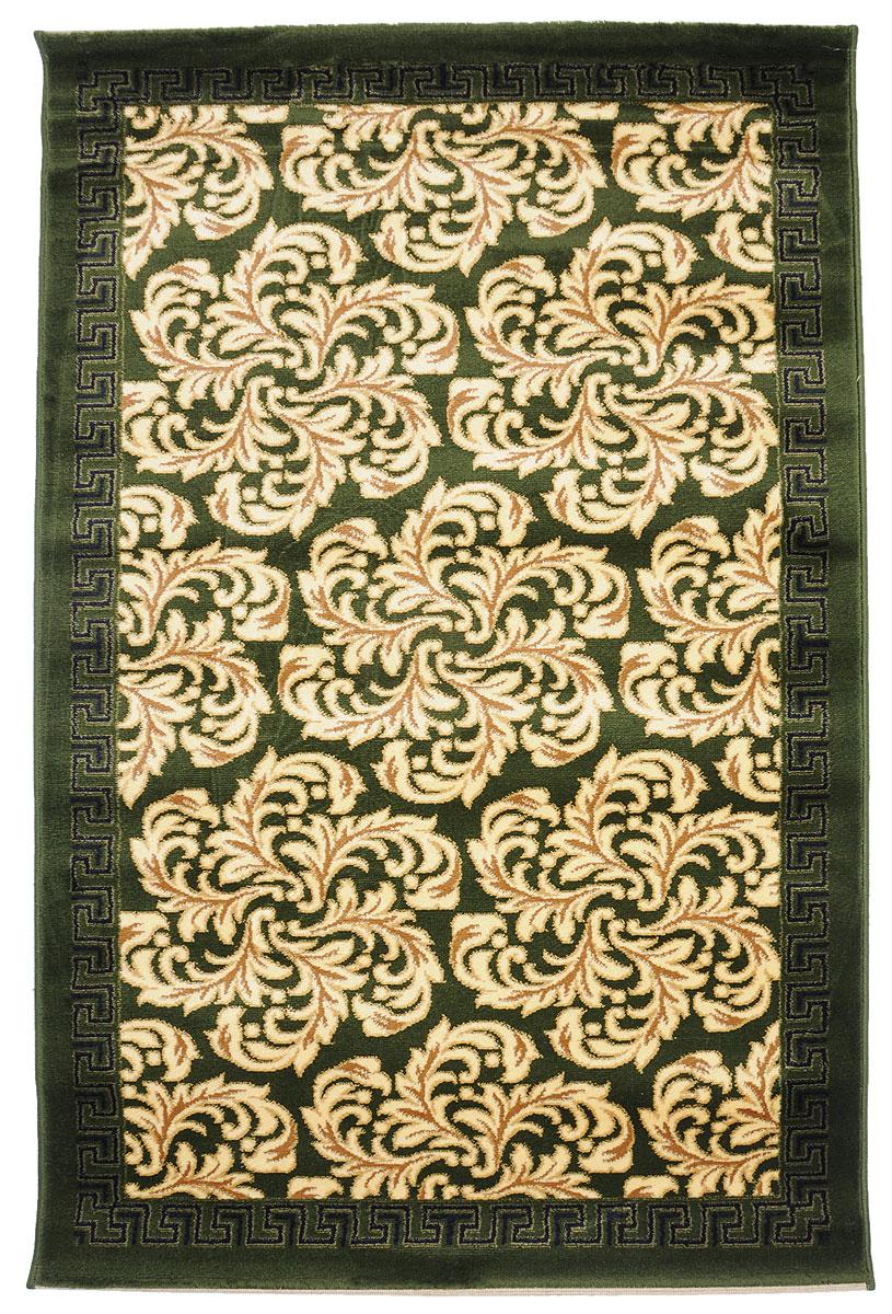 Ковер Kamalak Tekstil, прямоугольный, 100 x 150 см. УК-02901010216319Ковер Kamalak Tekstil изготовлен из прочного синтетического материала heat-set, улучшенного варианта полипропилена (эта нить получается в результате его дополнительной обработки). Полипропилен износостоек, нетоксичен, не впитывает влагу, не провоцирует аллергию. Структура волокна в полипропиленовых коврах гладкая, поэтому грязь не будет въедаться и скапливаться на ворсе. Практичный и износоустойчивый ворс не истирается и не накапливает статическое электричество. Ковер обладает хорошими показателями теплостойкости и шумоизоляции. Оригинальный рисунок позволит гармонично оформить интерьер комнаты, гостиной или прихожей. За счет невысокого ворса ковер легко чистить. При надлежащем уходе синтетический ковер прослужит долго, не утратив ни яркости узора, ни блеска ворса, ни упругости. Самый простой способ избавить изделие от грязи - пропылесосить его с обеих сторон (лицевой и изнаночной). Влажная уборка с применением шампуней и моющих средств не противопоказана. Хранить рекомендуется в свернутом рулоном виде.
