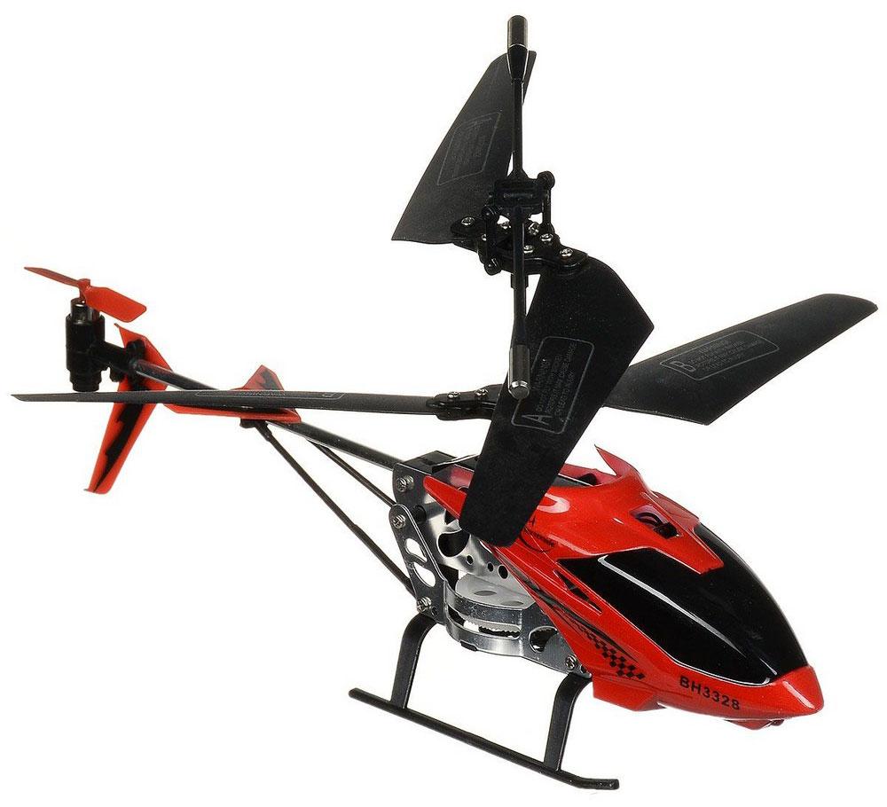 Властелин небес Вертолет на инфракрасном управлении Снайпер цвет красный черный