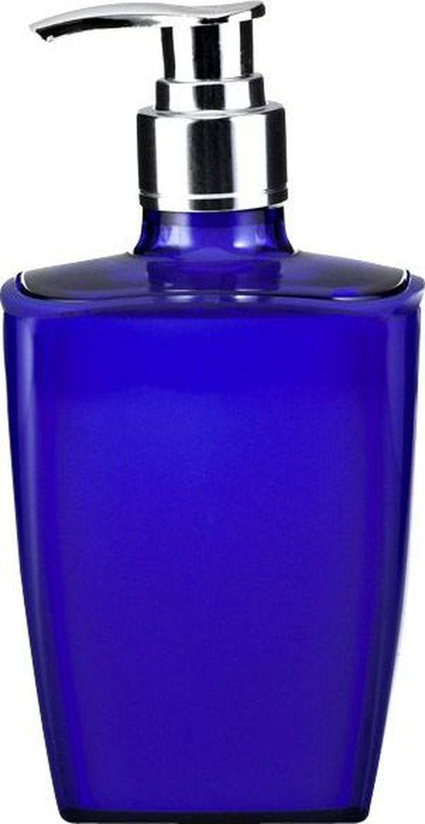 Дозатор для жидкого мыла Ridder Neon, цвет: синий22020503Данная серия изготавливается из акрилового стекла. Материал устойчив к ультрафиолету и мытью в посудомоечной машине.