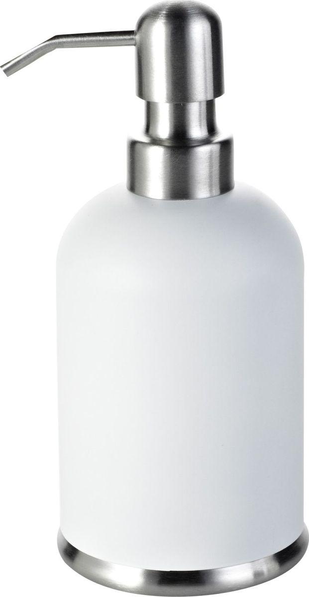 Дозатор для жидкого мыла Ridder Rondo, цвет: белый68/5/3Дозатор для жидкого мыла Rondo для удобства оснащен внутренней емкостью из пластика. Продукция серии Rondo полностью выполнена из высококачественной стали.Объем - 360 мл.