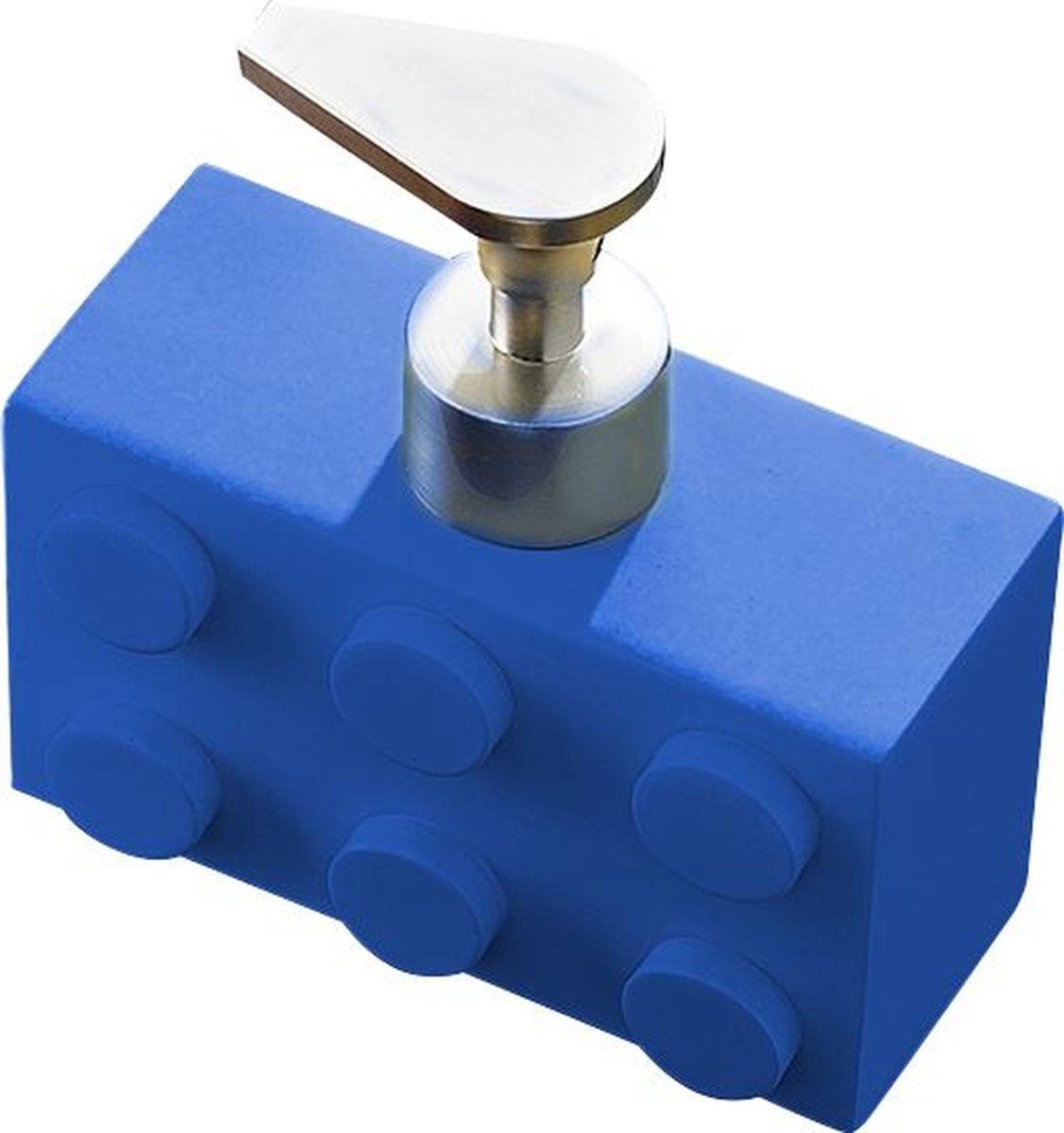 Дозатор для жидкого мыла Ridder Bob, цвет: синий, 280 мл22210503Дозатор для жидкого мыла Ridder Bob, изготовленный из экологичной полирезины, отлично подойдет для вашей ванной комнаты. Такой аксессуар очень удобен в использовании, достаточно лишь перелить жидкое мыло в дозатор, а когда необходимо использование мыла, легким нажатием выдавить нужное количество. Дозатор для жидкого мыла Ridder Bob создаст особую атмосферу уюта и максимального комфорта в ванной. Объем дозатора: 280 мл.
