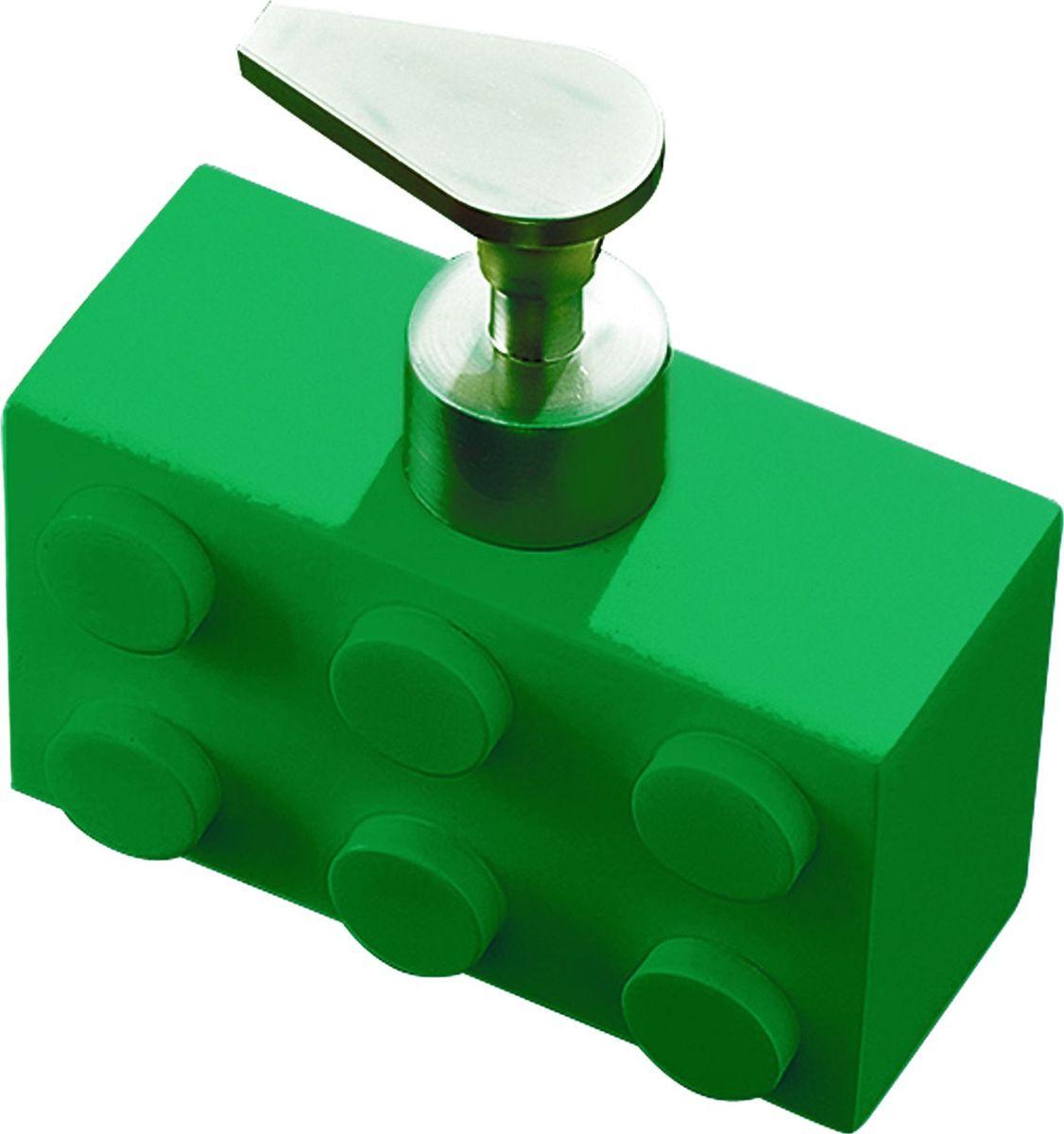 Дозатор для жидкого мыла Ridder Bob, цвет: зеленый, 280 мл22210505Дозатор для жидкого мыла Ridder Bob, изготовленный из экологичной полирезины, отлично подойдет для вашей ванной комнаты. Такой аксессуар очень удобен в использовании, достаточно лишь перелить жидкое мыло в дозатор, а когда необходимо использование мыла, легким нажатием выдавить нужное количество. Дозатор для жидкого мыла Ridder Bob создаст особую атмосферу уюта и максимального комфорта в ванной. Объем дозатора: 280 мл.
