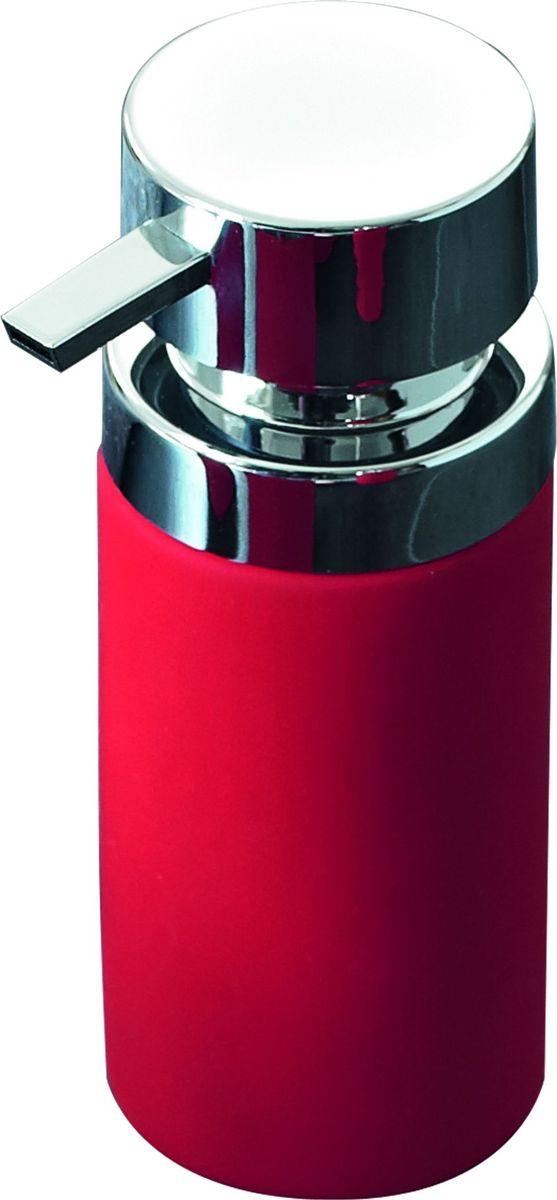 Дозатор для жидкого мыла Ridder Elegance, цвет: красный22220506Данная серия изготовлена из керамики и покрыта слоем полирезины