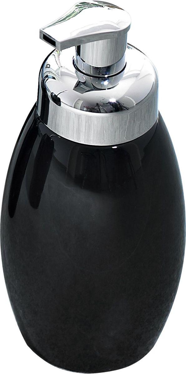 Дозатор для жидкого мыла Ridder Shiny, цвет: черныйUP210DFСерия Shiny изготавливается из высококачественной керамики и покрывается слоем экологичного лака. Изделия устойчивы к ультрафиолету.Объём: 500 мл.