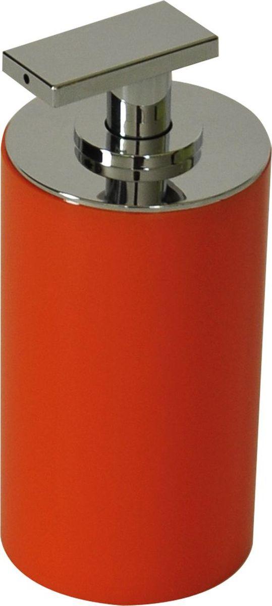 Дозатор для жидкого мыла Ridder Paris, цвет: оранжевый, 200 мл22250514Дозатор для жидкого мыла Ridder Paris, изготовленный из экологичной полирезины, отлично подойдет для вашей ванной комнаты. Такой аксессуар очень удобен в использовании, достаточно лишь перелить жидкое мыло в дозатор, а когда необходимо использование мыла, легким нажатием выдавить нужное количество. Дозатор для жидкого мыла Ridder Paris создаст особую атмосферу уюта и максимального комфорта в ванной. Объем дозатора: 200 мл.