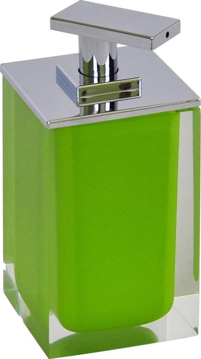 Дозатор для жидкого мыла Ridder Colours, цвет: зеленый, 300 мл22280505Дозатор для жидкого мыла Ridder Colours, изготовленный из экологичной полирезины, отлично подойдет для вашей ванной комнаты. Такой аксессуар очень удобен в использовании, достаточно лишь перелить жидкое мыло в дозатор, а когда необходимо использование мыла, легким нажатием выдавить нужное количество. Дозатор для жидкого мыла Ridder Colours создаст особую атмосферу уюта и максимального комфорта в ванной. Объем дозатора: 300 мл.