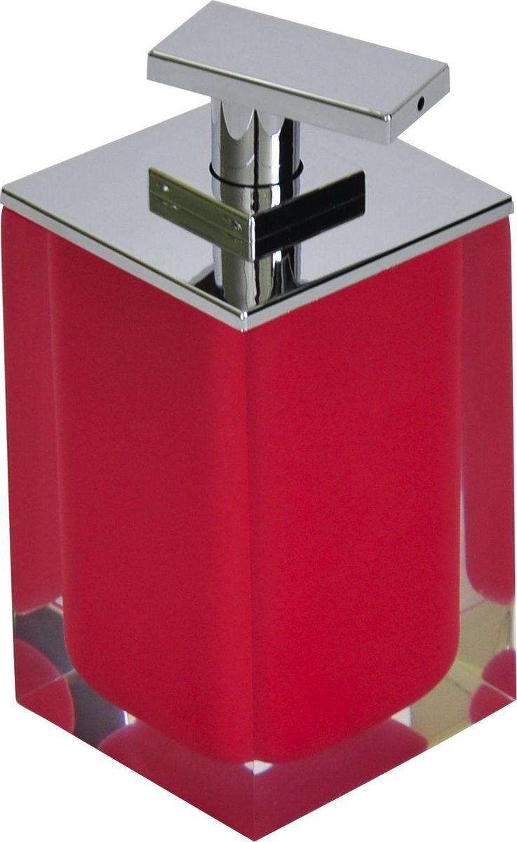 Дозатор для жидкого мыла Ridder Colours, цвет: красный, 300 мл22280506Дозатор для жидкого мыла Ridder Colours, изготовленный из экологичной полирезины, отлично подойдет для вашей ванной комнаты. Такой аксессуар очень удобен в использовании, достаточно лишь перелить жидкое мыло в дозатор, а когда необходимо использование мыла, легким нажатием выдавить нужное количество. Дозатор для жидкого мыла Ridder Colours создаст особую атмосферу уюта и максимального комфорта в ванной. Объем дозатора: 300 мл.