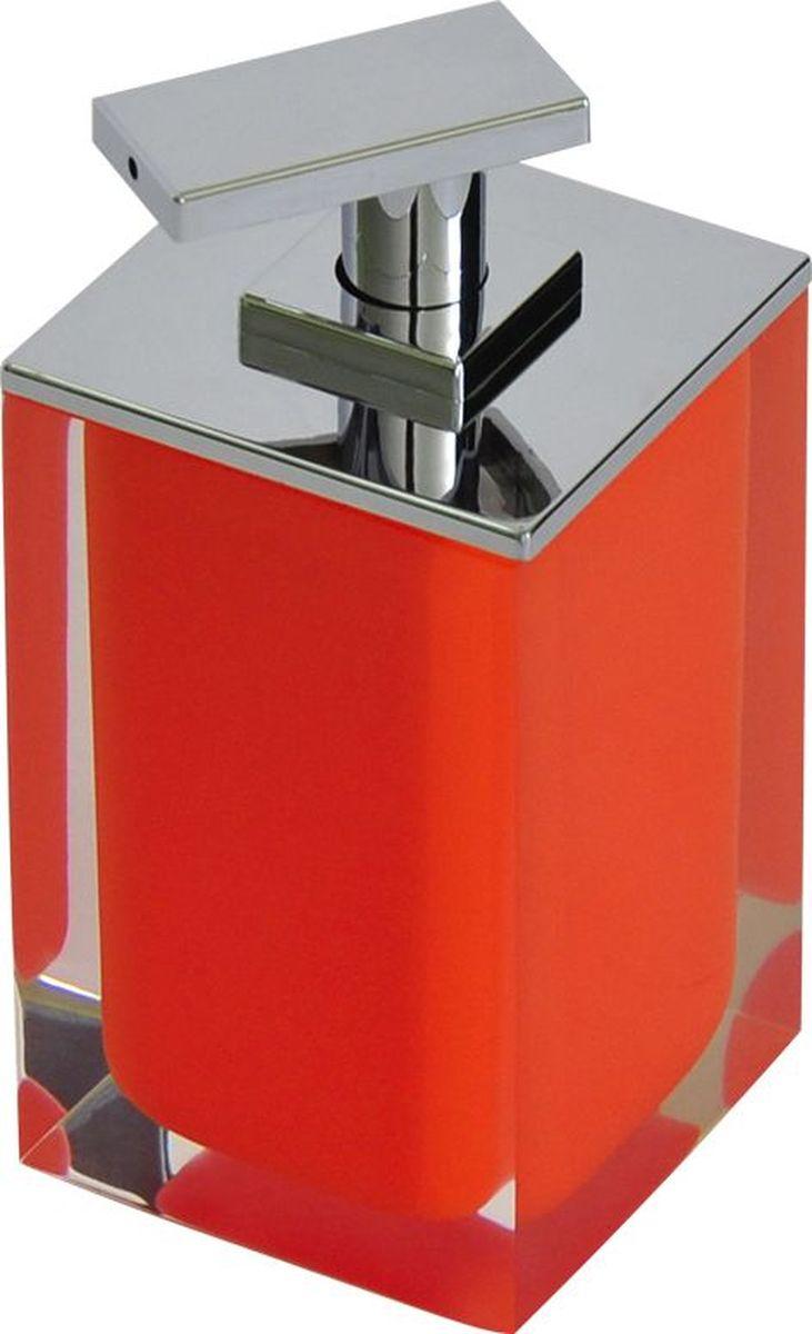 Дозатор для жидкого мыла Ridder Colours, цвет: оранжевый, 300 мл22280514Дозатор для жидкого мыла Ridder Colours, изготовленный из экологичной полирезины, отлично подойдет для вашей ванной комнаты. Такой аксессуар очень удобен в использовании, достаточно лишь перелить жидкое мыло в дозатор, а когда необходимо использование мыла, легким нажатием выдавить нужное количество. Дозатор для жидкого мыла Ridder Colours создаст особую атмосферу уюта и максимального комфорта в ванной. Объем дозатора: 300 мл.
