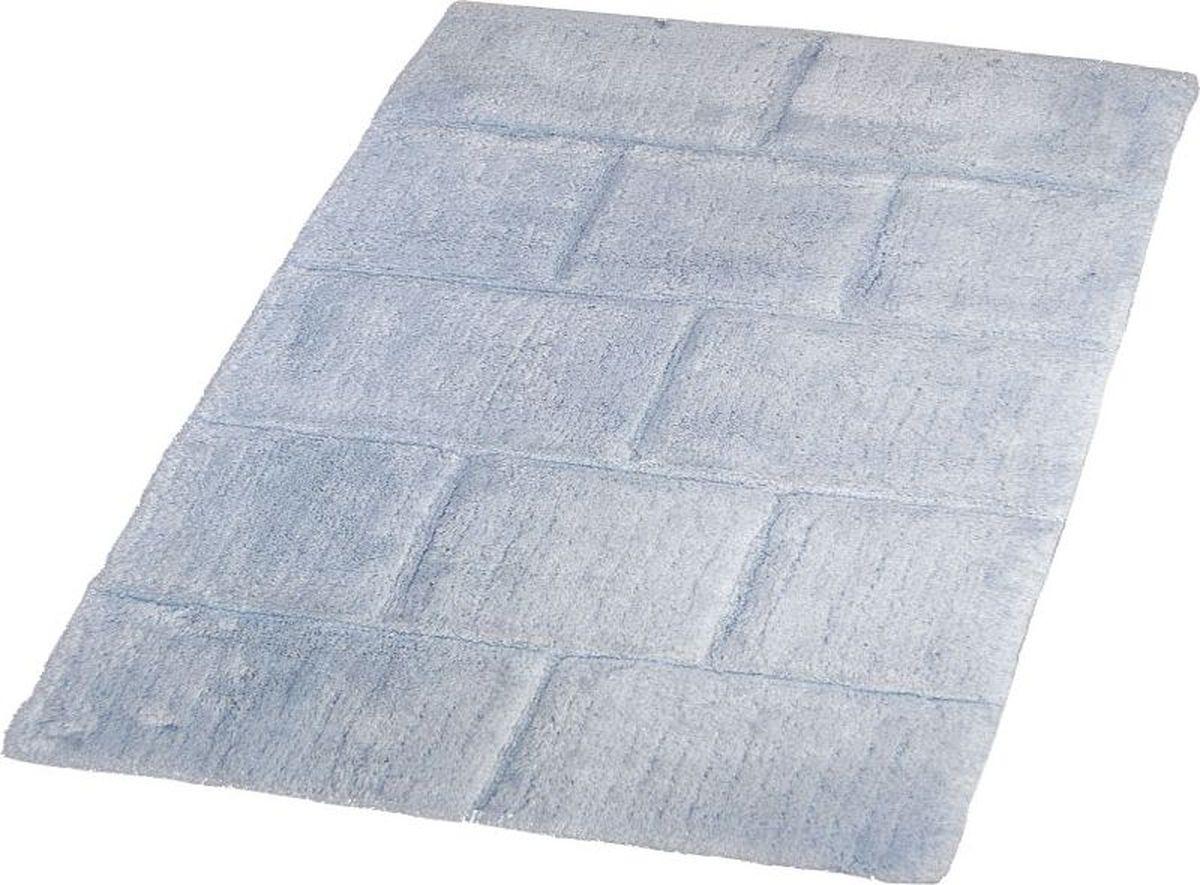 Коврик для ванной Ridder Wall, цвет: синий, голубой, 60 х 90 см. 7041303 коврик для ванной ridder grand prix цвет белый синий 55 х 85 см