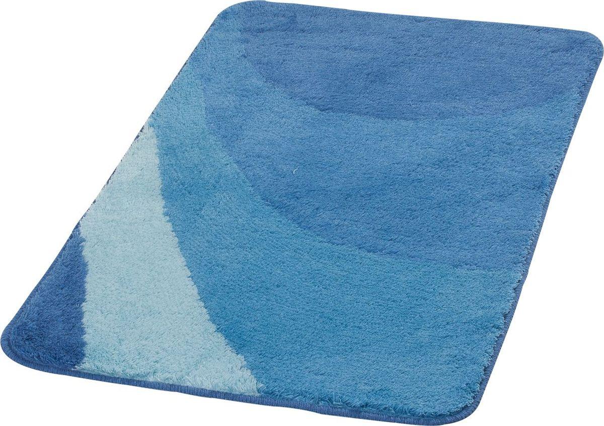Коврик для ванной Ridder Tokio, цвет: синий, голубой, 70 х 120 см коврик для ванной ridder grand prix цвет белый синий 55 х 85 см