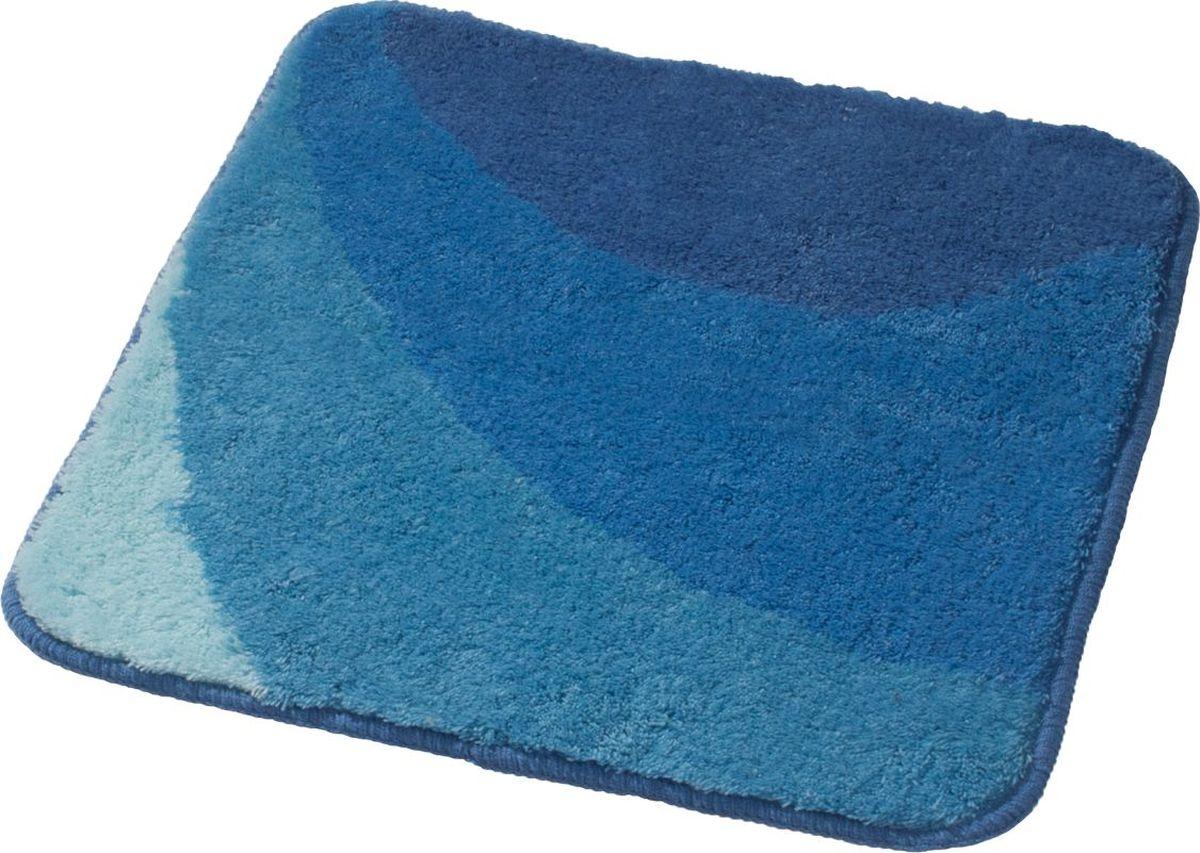 Коврик для ванной Ridder Tokio, цвет: синий, голубой, 55 х 50 см коврик для ванной ridder grand prix цвет белый синий 55 х 85 см