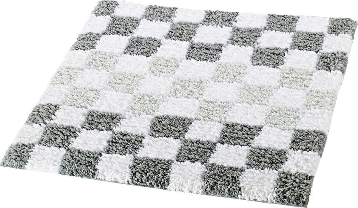 Коврик для ванной Ridder Grand Prix, цвет: серый, 55 х 50 см коврик для ванной ridder grand prix цвет белый синий 55 х 85 см