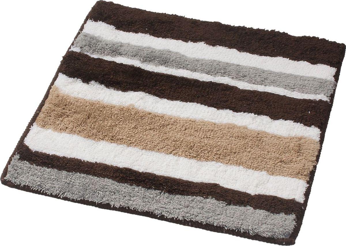 Коврик для ванной Ridder Tutu, цвет: бежевый, коричневый, 55 х 50 см коврик для ванной ridder grand prix цвет белый синий 55 х 85 см