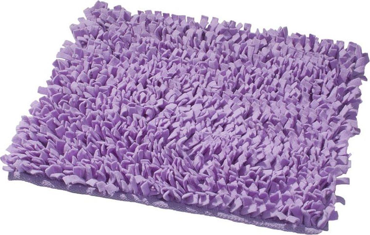 Коврик для ванной Ridder Hair, цвет: фиолетовый, 55 х 50 см коврик для ванной ridder grand prix цвет белый синий 55 х 85 см