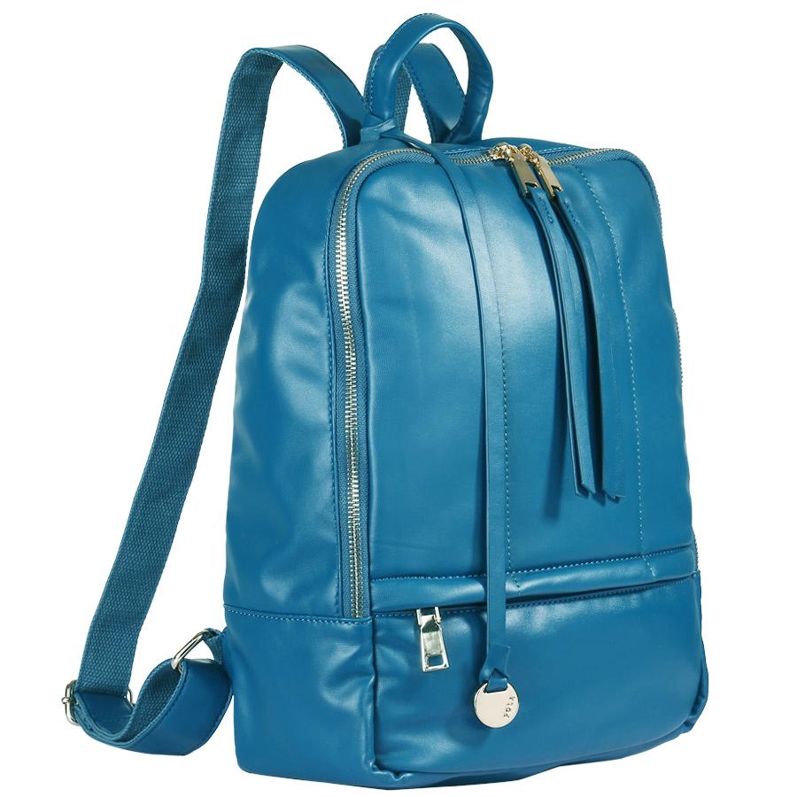 Рюкзак городской женский Pola, цвет: темно-бирюзовый, 11 л. 4270 green