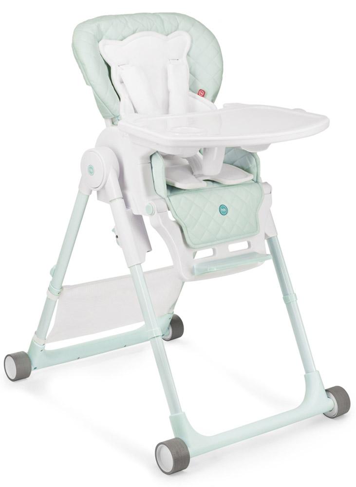 Happy Baby Стульчик для кормления William V2 цвет голубой