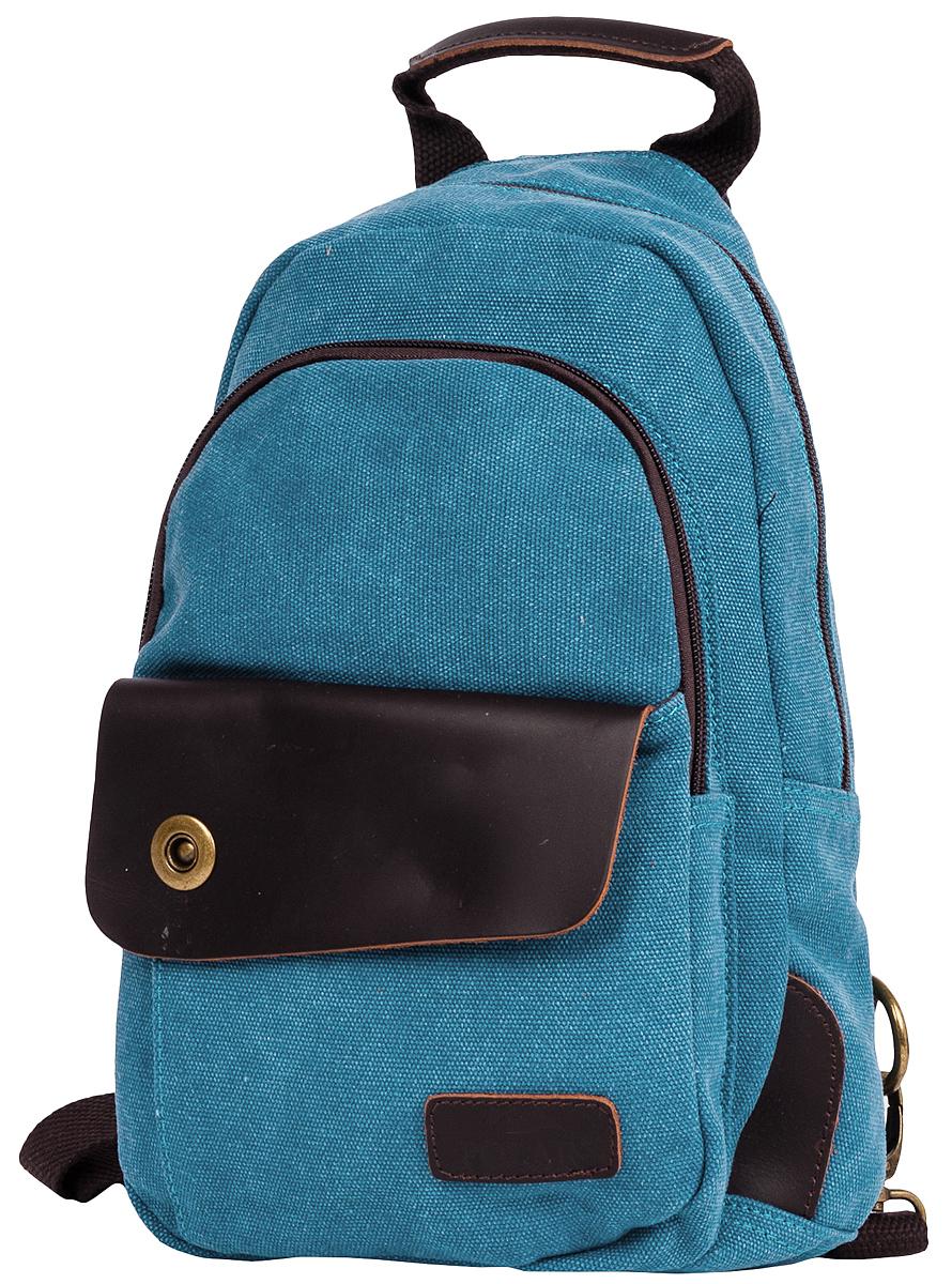 """Рюкзак городской женский Polar """"Adventure"""", цвет: синий, 3,6 л. п2062-04 d.blue"""