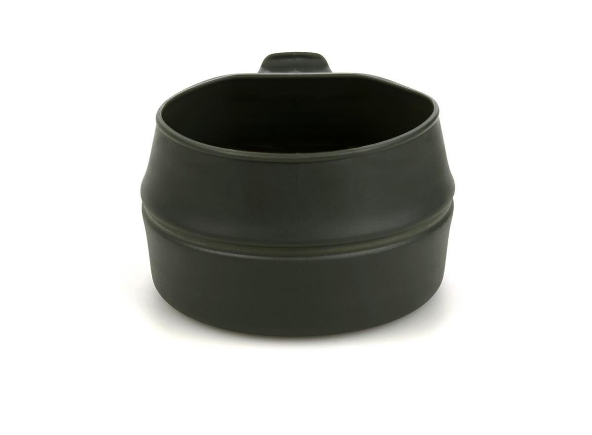"""Кружка складная Wildo """"Fold-a-Cup"""", портативная , цвет: оливковый. 10014"""