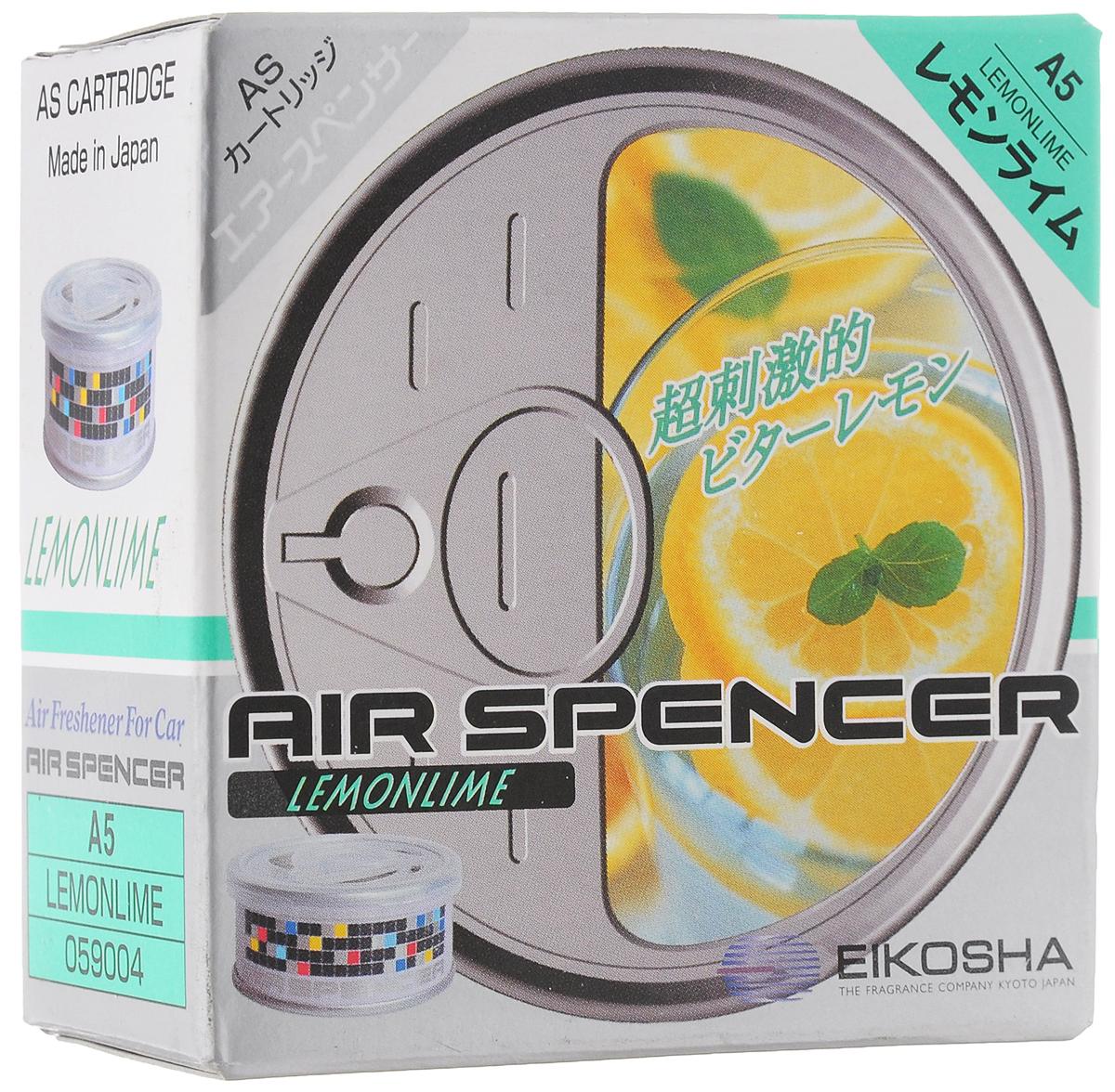 Ароматизатор автомобильный Eikosha Lemon LimeA-5Ароматизатор Eikosha Lemon Lime предназначен для размещения в автомобиле. Изделие крепится с помощью двухсторонней клейкой ленты. Ароматизатор имеет свежий и яркий аромат - сочетание лимона и лайма.